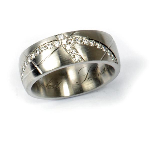 Ring Palladium Diamanten (1007185)